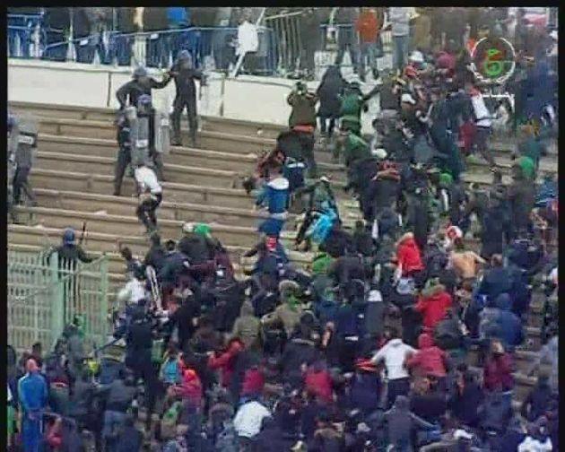 Le match MCA-JSKà Constantine pour le compte de la demie-finale de la Coupe d'Algérie...