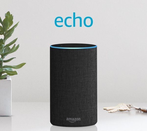 """Your mom will love how easily the Echo connects to her favorite apps, like Spotify, Uber, NPR and more. Get it <a href=""""https"""