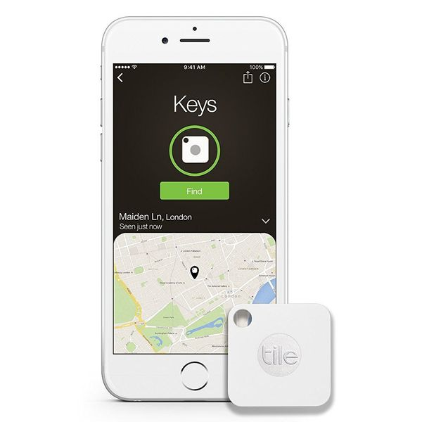 """The Tile Mate key finderis a small Bluetooth tracker that that <a href=""""https://www.amazon.com/Tile-Mate-Finder-Anythin"""