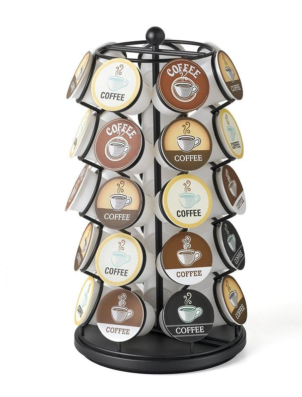 """If your mom is obsessed with her Keurig, she'll absolutely love <a href=""""https://www.amazon.com/K-Cup-Carousel-Holds-K-Cups-B"""