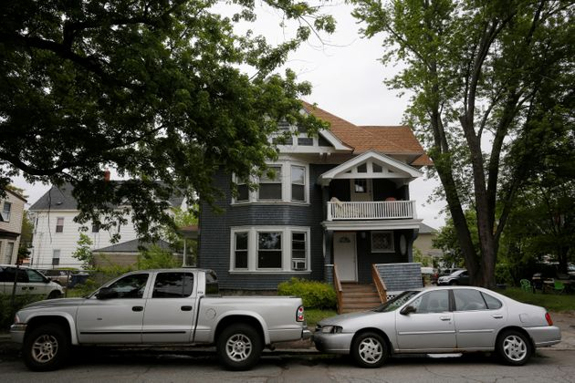 This home in Lawrence, Massachusetts, was raided in May 2017as part of an investigation into heroin...