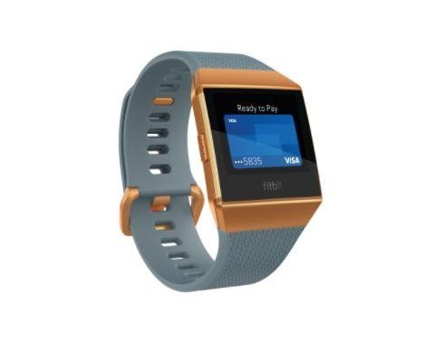 "The <a href=""https://jet.com/product/Fitbit-Ionic-Smartwatch-Slate-Blue-and-Burnt-Orange/15dfd27e579e4a07b8a00a8cec3972bd"" ta"