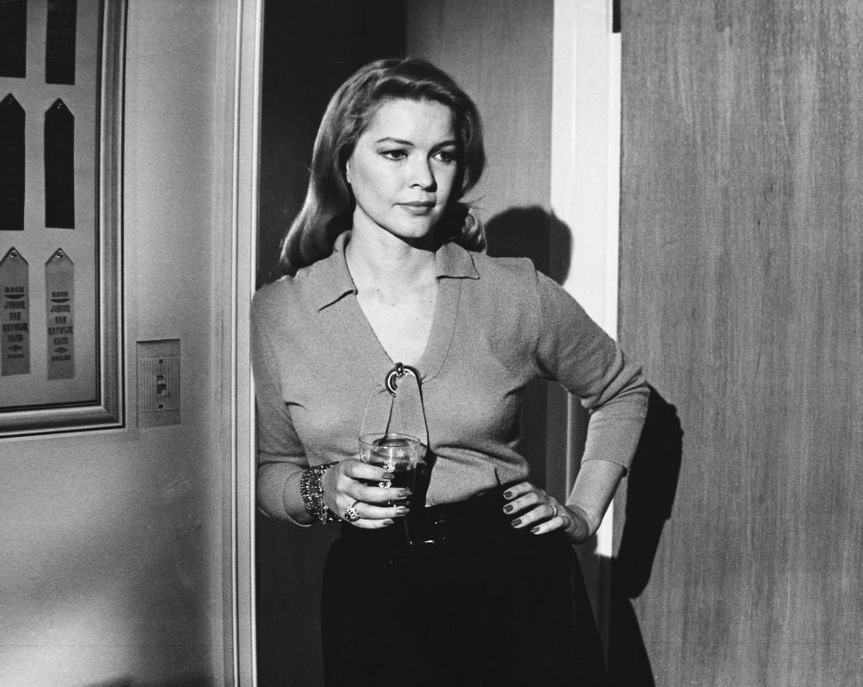 "Ellen Burstyn in ""The Last Picture Show."""