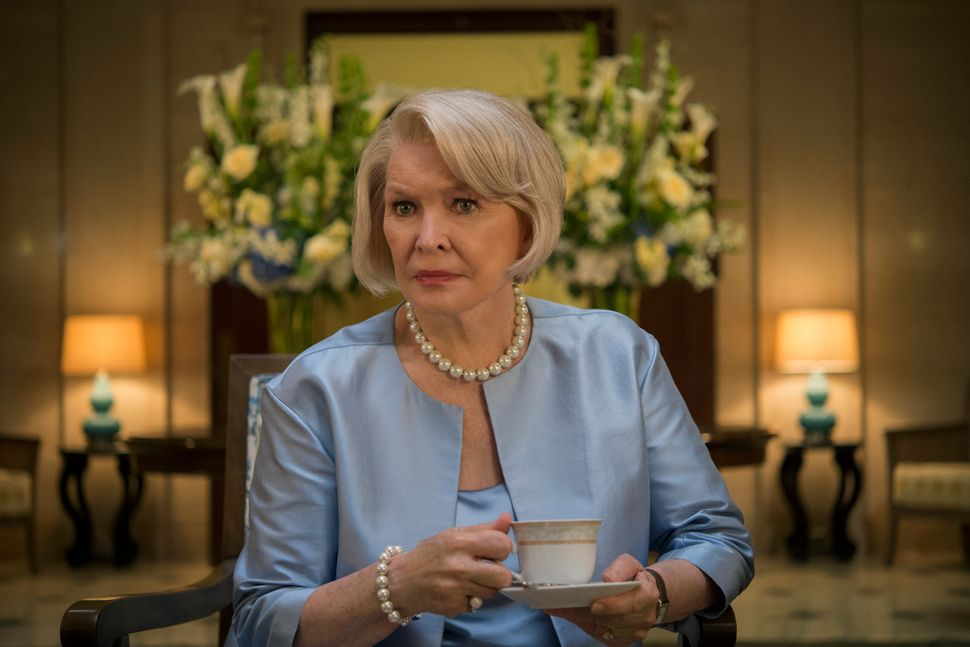 "Ellen Burstyn on ""House of Cards."""