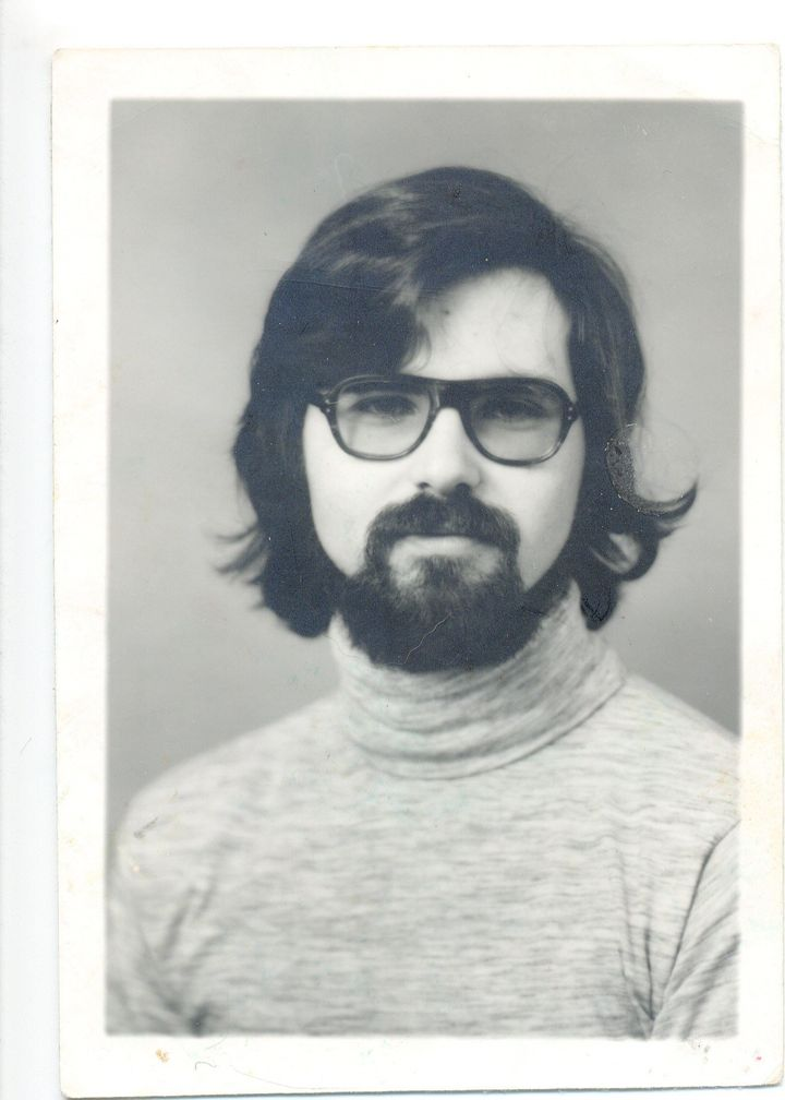A photo of Jim Carson when he graduated from college, before he became known as Michael Bear Carson.