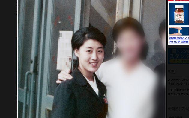 김정은 위원장의 친모 고용희의 20대 사진이