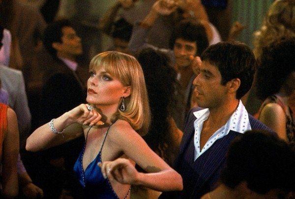 Η Michelle Pfeiffer και ο Al Pacino στο «Scarface».