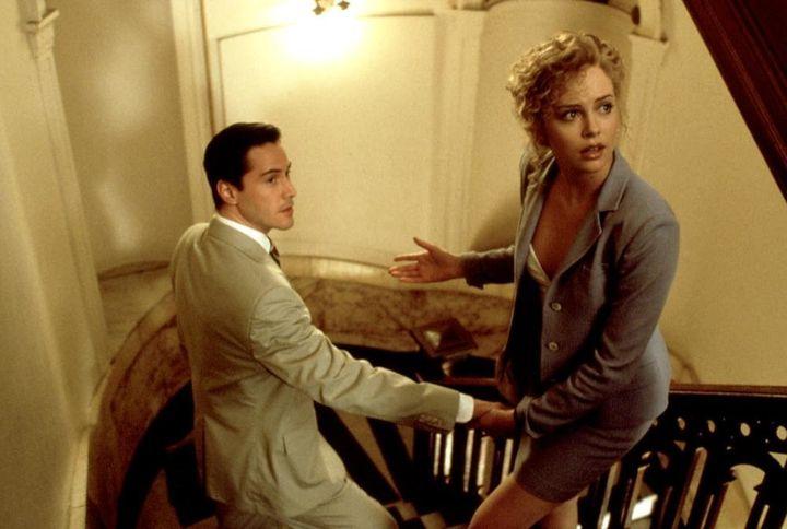 O Keanu Reeves με την Charlize Theron στο «Ο Δικηγόρος του Διαβόλου».
