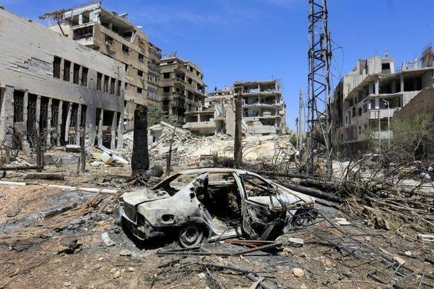 Syrie: missiles abattus, selon Damas, l'OIAC attendue à Douma