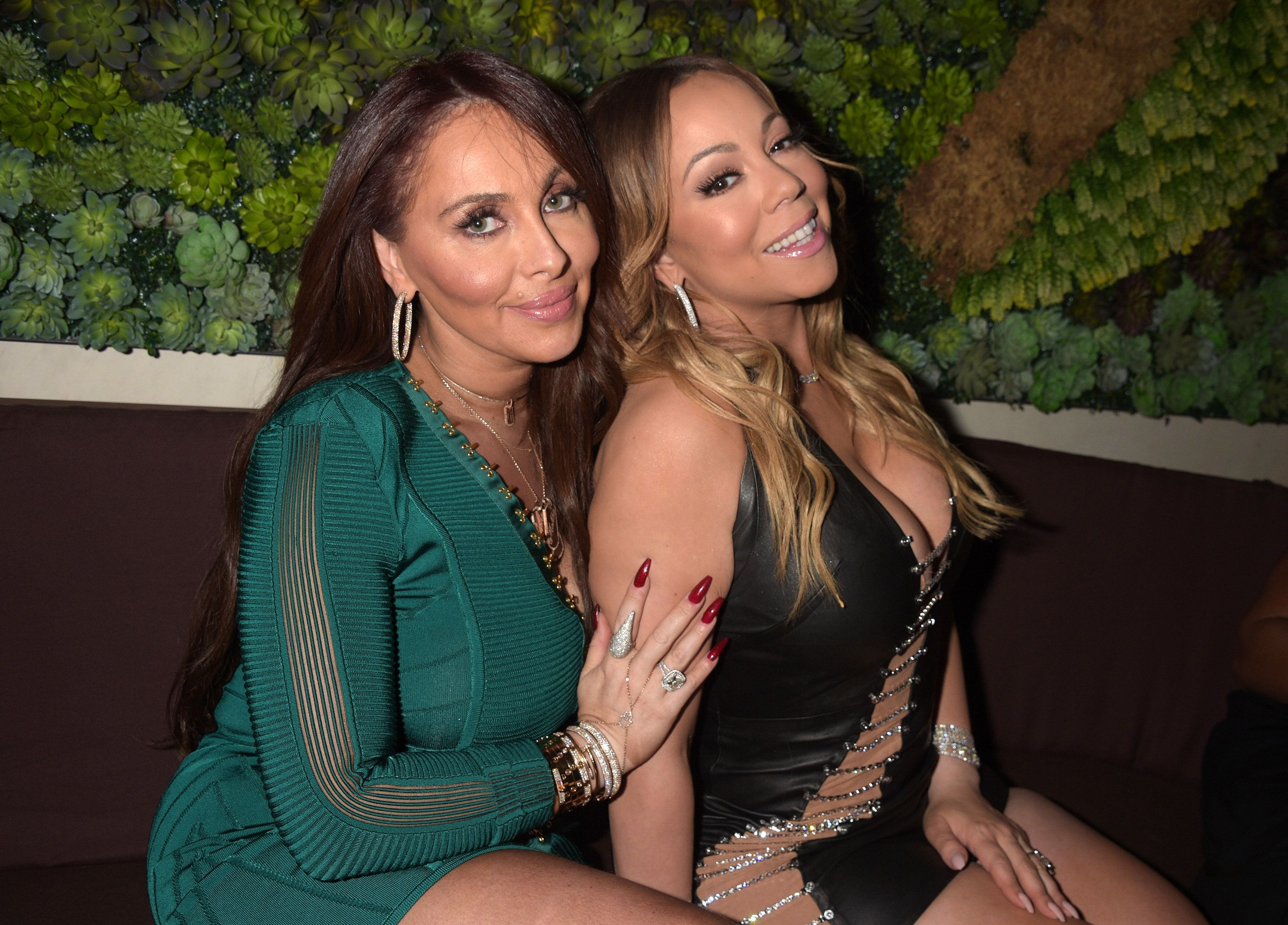 FilmMagic via Getty Images                   Stella and Mariah in May 2017