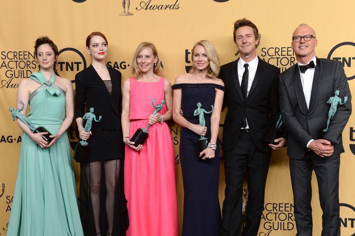 Οι νικητές στα 21α Βραβεία της Ένωσης Ηθοποιών.