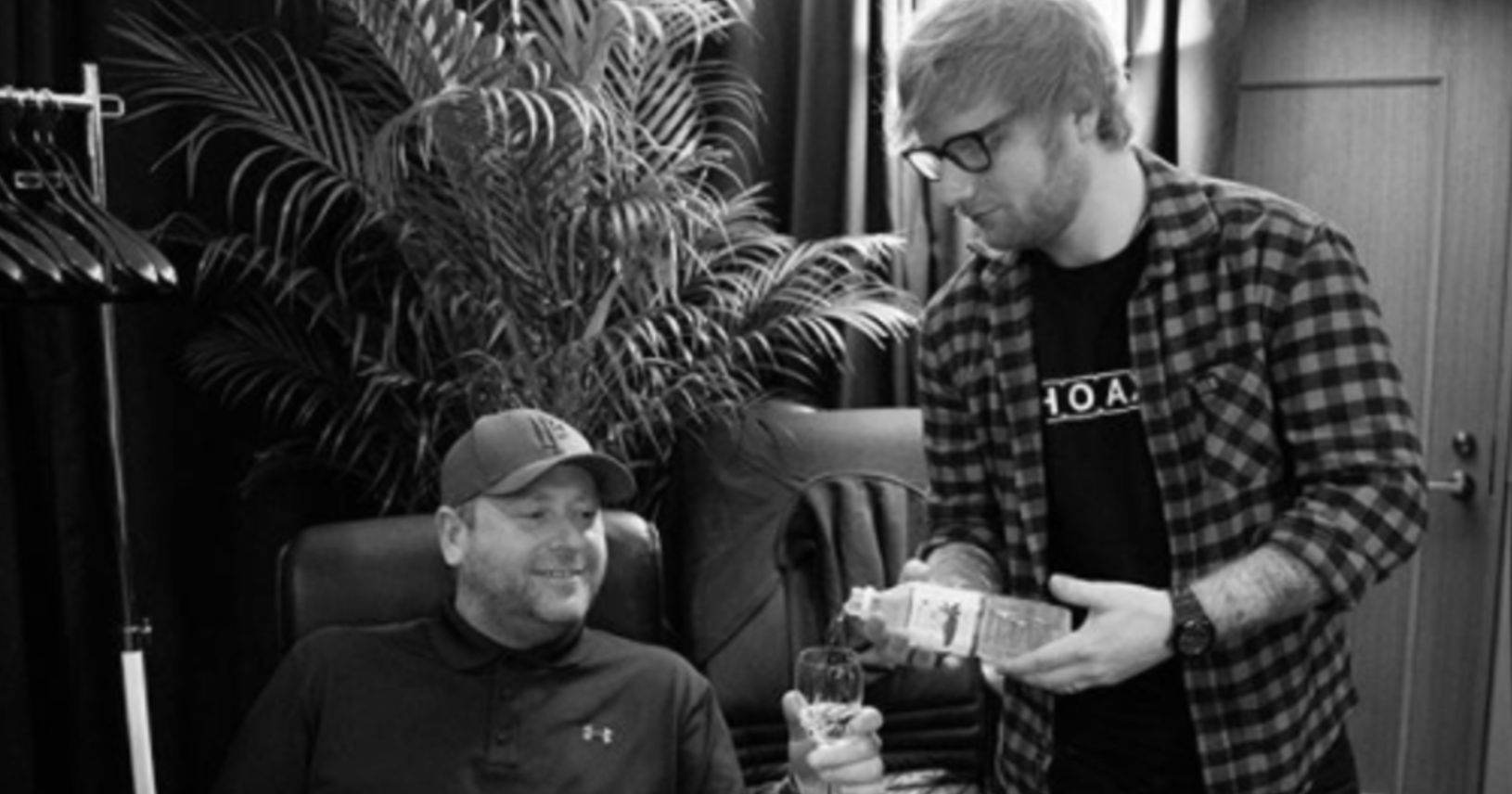 Ed Sheeran's Bodyguard Hilariously Instagrams His Life With The