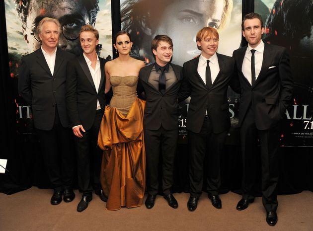 Voyez la réunion glorieuse d'Emma Watson avec des acteurs d'«Harry