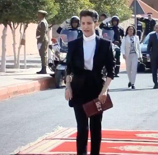 Un designer français se réjouit de voir la princesse Lalla Meryem porter une de ses