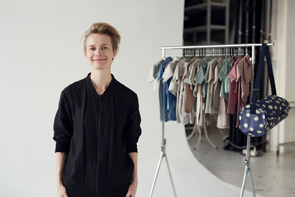 Vigga Svennson worked for a kids' ethical fashion brand for 10 years before deciding to set up her company of renting baby clothes.