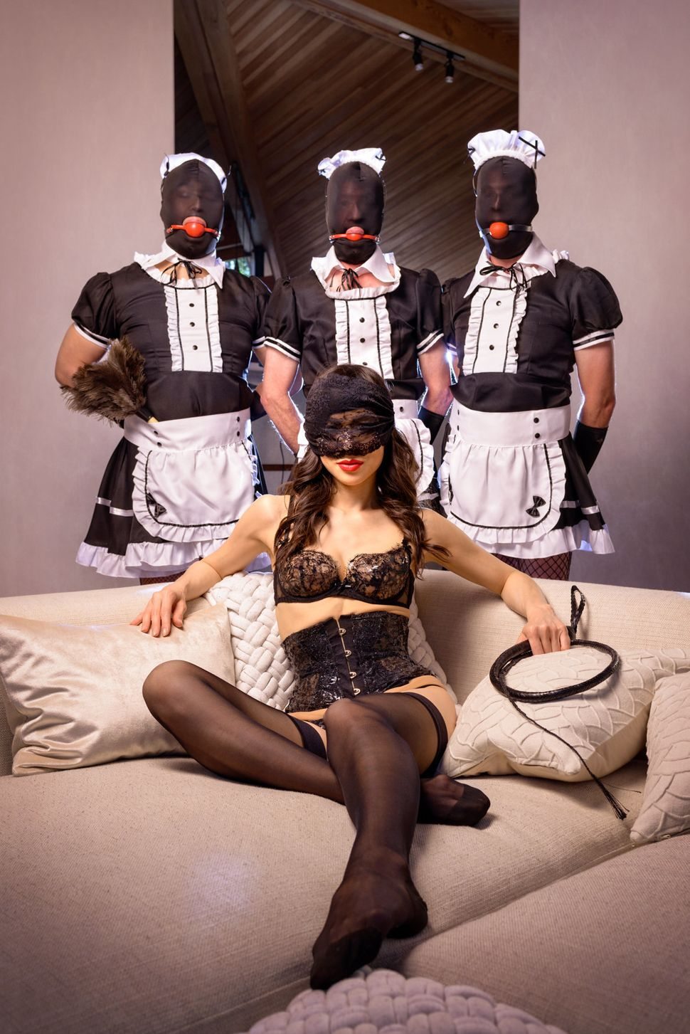 Colette, or Domina Colette, has been a professional dominatrix for the past 13 years.
