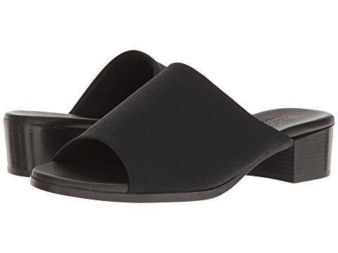 6803923a7026 Zappos. These black slides are the perfect footwear ...