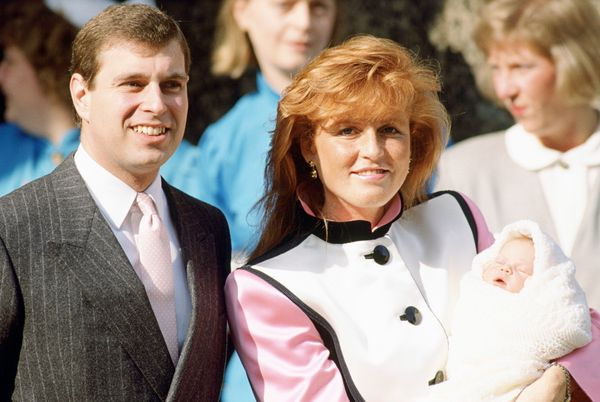 Andrew and Sarah welcomed their second daughter, Princess Eugenie, in 1990. The couple divorced in 1996.