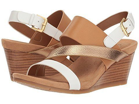 These strappy wedges include memory foam cushioningto give you the support you're missing from other sandals.<br>