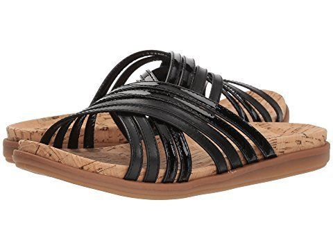 The corked footbed of these sandals guarantees they'll contour to the shape of your foot for extreme comfort.<br><br><a