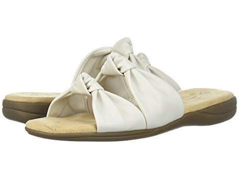 These slip-on sandals have just enough feminine edge to pair nicely with summer staples, but are comfortable and practical en