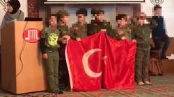 Auch in Moschee in Mönchengladbach marschierten Kinder in türkischer
