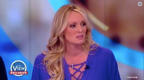 Stormy Daniels Reveals Sketch Of Man Who Allegedly Threatened Her Over Trump