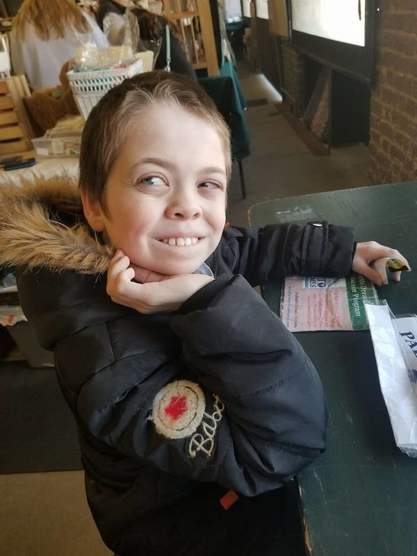 """""""Autism is about smiles! It's the little things that make them enjoy life! This is Derrick, he's 10."""""""
