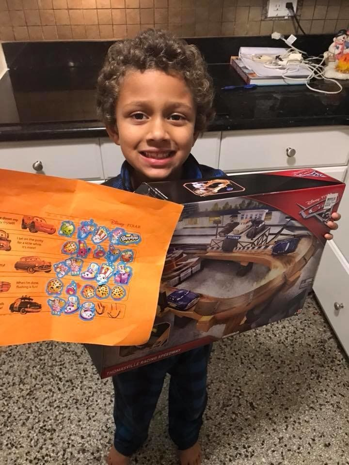 """""""Autism is celebrating each developmental milestone in a BIG way! (Potty training number two at 6 years old.) Jantis, now age"""