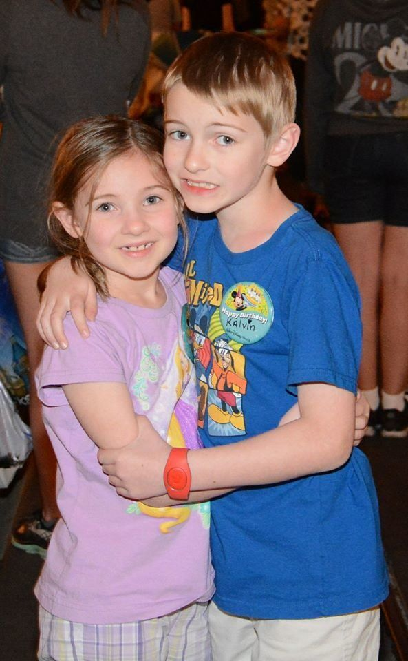 """""""Autism looks like two siblings loving each other. Both have autism and both are delightful."""""""