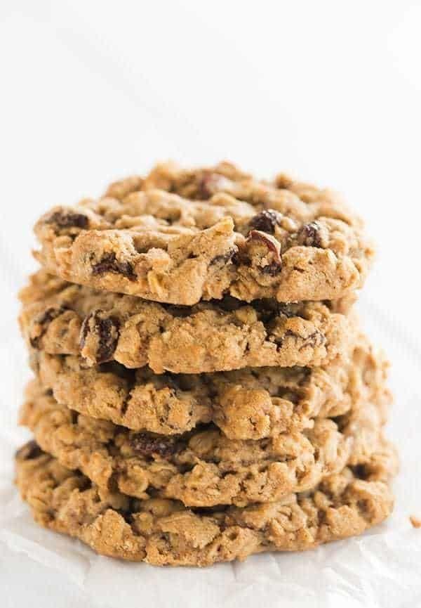 "<strong>Get the <a href=""https://www.browneyedbaker.com/sadelles-oatmeal-raisin-cookies/"" target=""_blank"">Sadelle's Oatmeal R"
