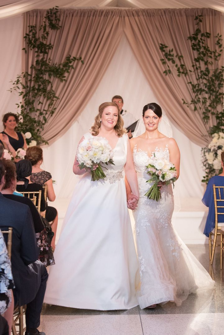 "Jones (left) called her new wife ""the most beautiful person I've ever met, both inside and out."""