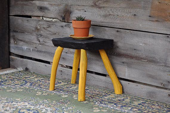 """This table <a href=""""https://www.etsy.com/listing/244956496/wabi-sabi-altar-table-wooden-bench-wood"""" target=""""_blank"""">is the em"""