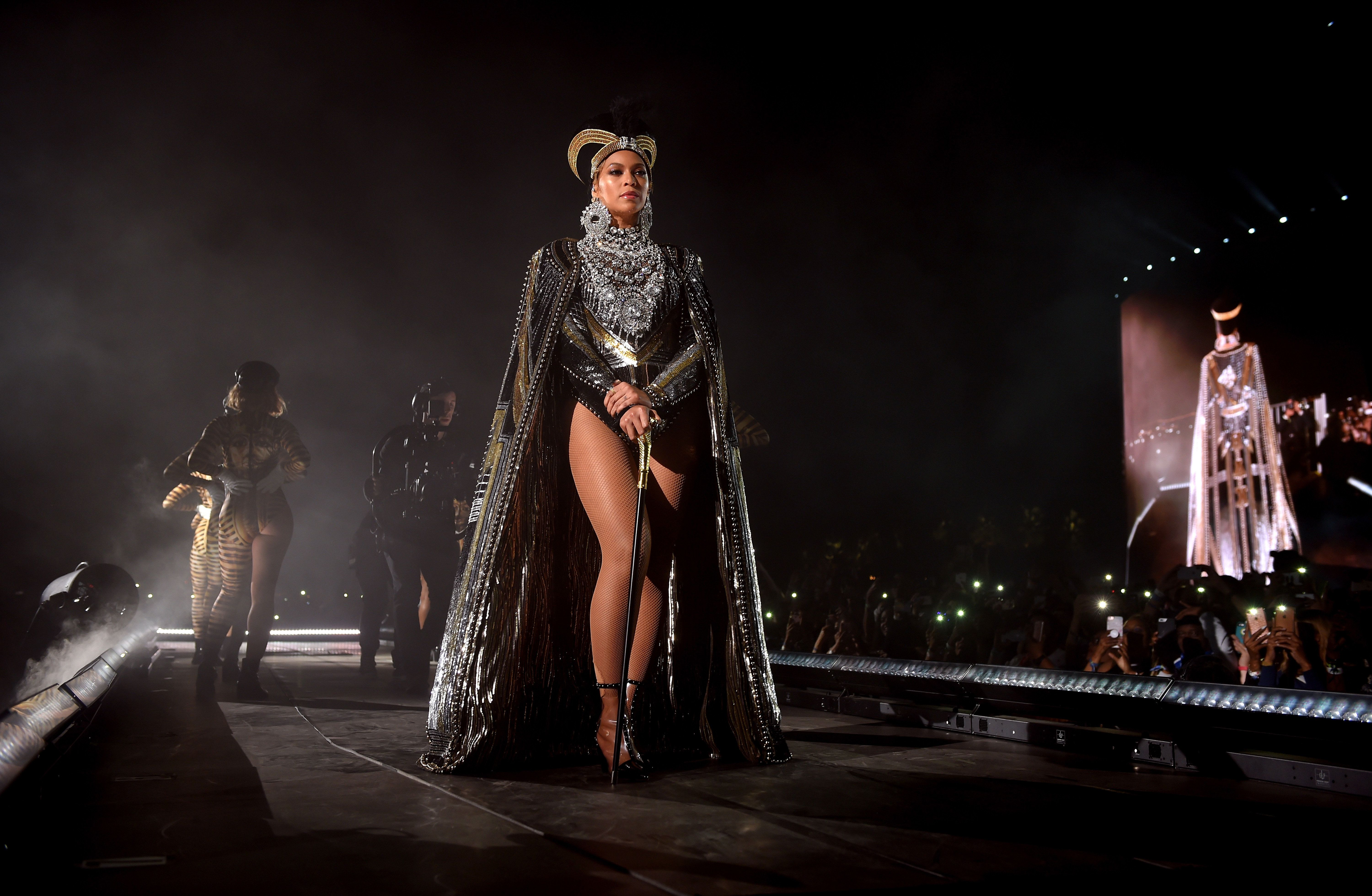 Beyoncé Brings Out J Balvin for 'Mi Gente' at Coachella