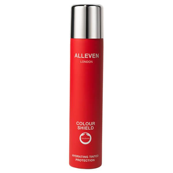 """$80, <a href=""""https://www.skinstore.com/alleven-london-colour-shield-hydrating-tinted-protection-sand-200ml/11564187.html"""" ta"""