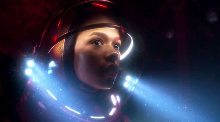 """Lost in Space"" on Netflix."