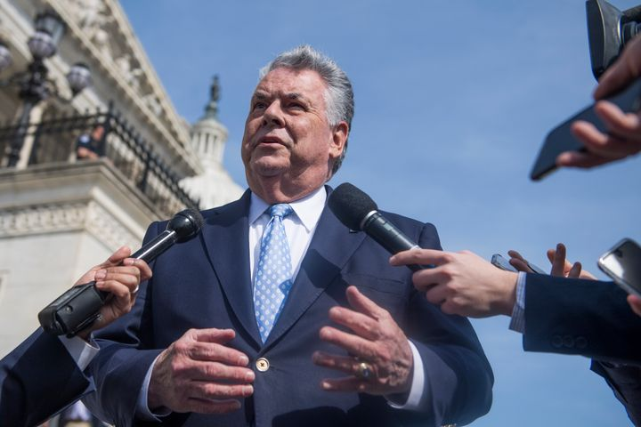 Rep. Peter King (R-N.Y.) supports sweeping authority for the president to authorize military action without congressiona