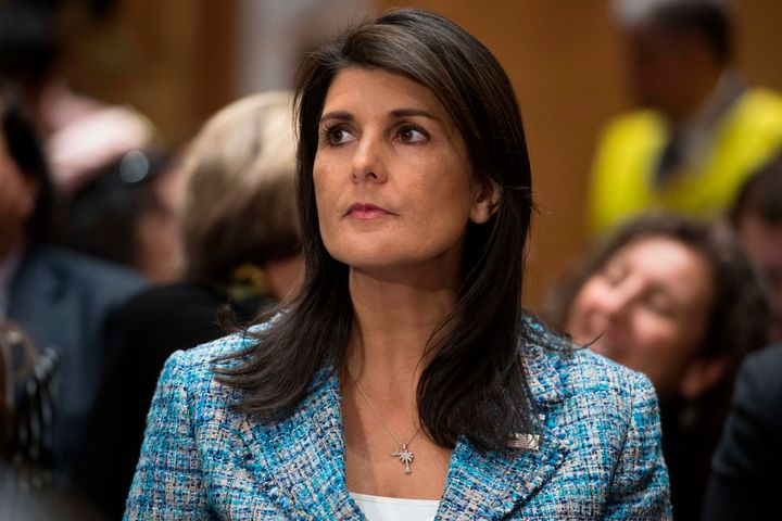 Nikki Haley said on Sunday that the U.S. would impose additional sanctions on Russia, only to be contradicted by the White Ho