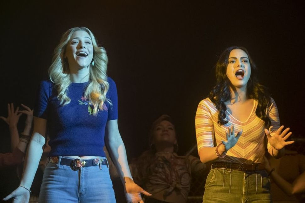 "Lili Reinhart (Betty) and Camila Mendes (Veronica) in ""Riverdale."""