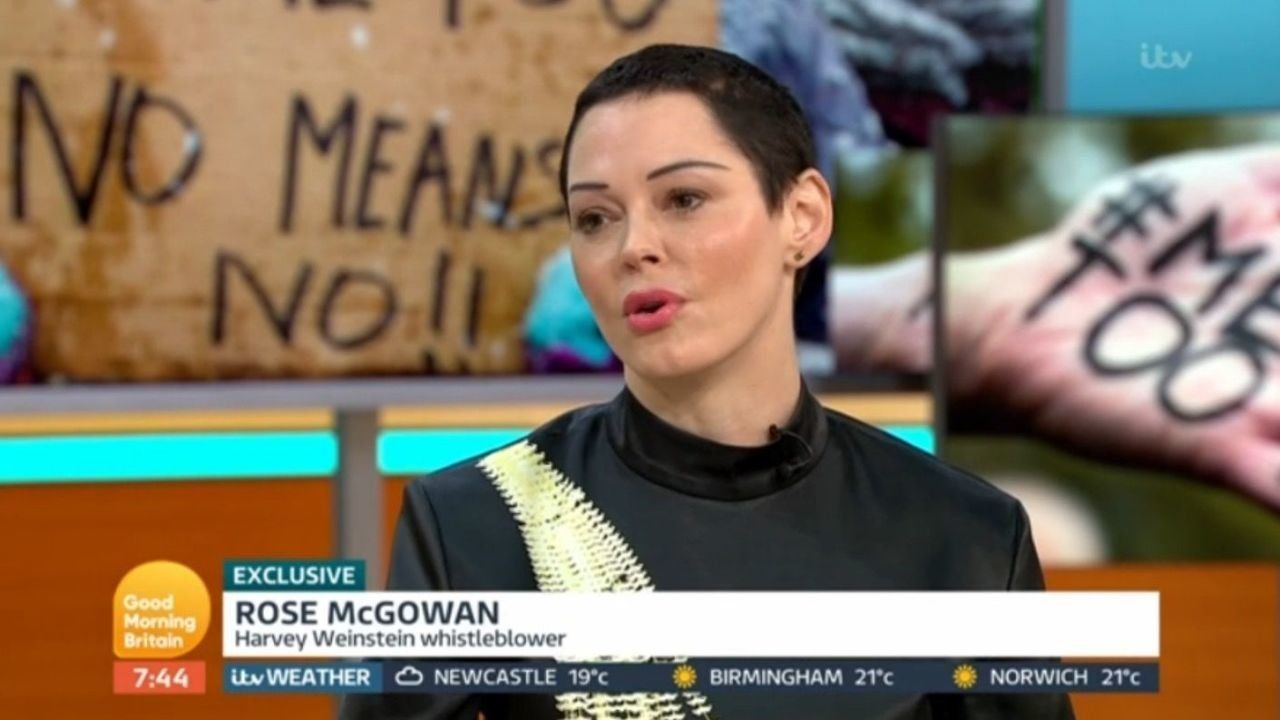 Rose McGowan Says A 'Weight' Was Lifted When The Weinstein Company Declared