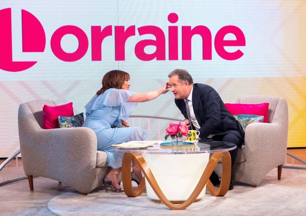 Lorraine Kellycompared Piers to a