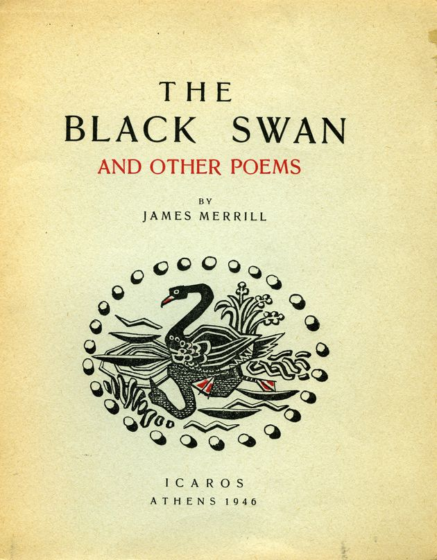 James Merrill, The Black Swan and other Poems, εκδ. Ίκαρος,...