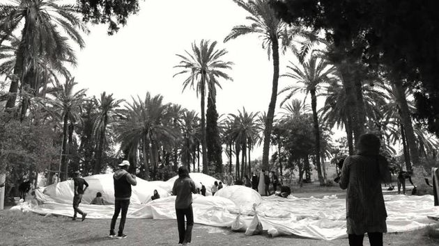 No Logo, le projet artistique qui sort de leur bulle les régions tunisiennes de Gabes, Gafsa, et du