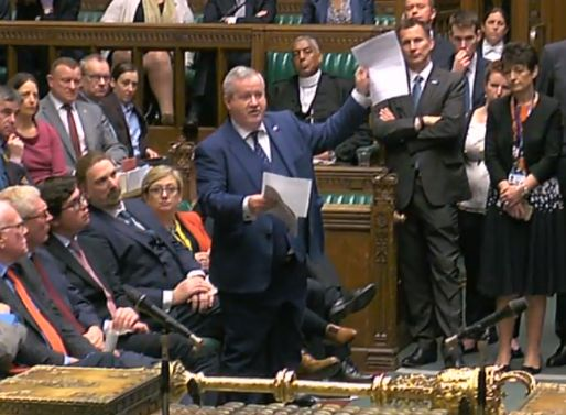 Ian Blackford confronts the Prime Minister with the rape clause