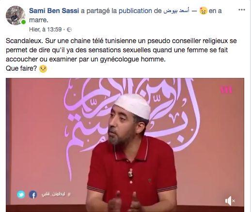 Selon cet imam, lorsqu'un un gynécologue homme touche sa patiente, il l'excite. Les réactions