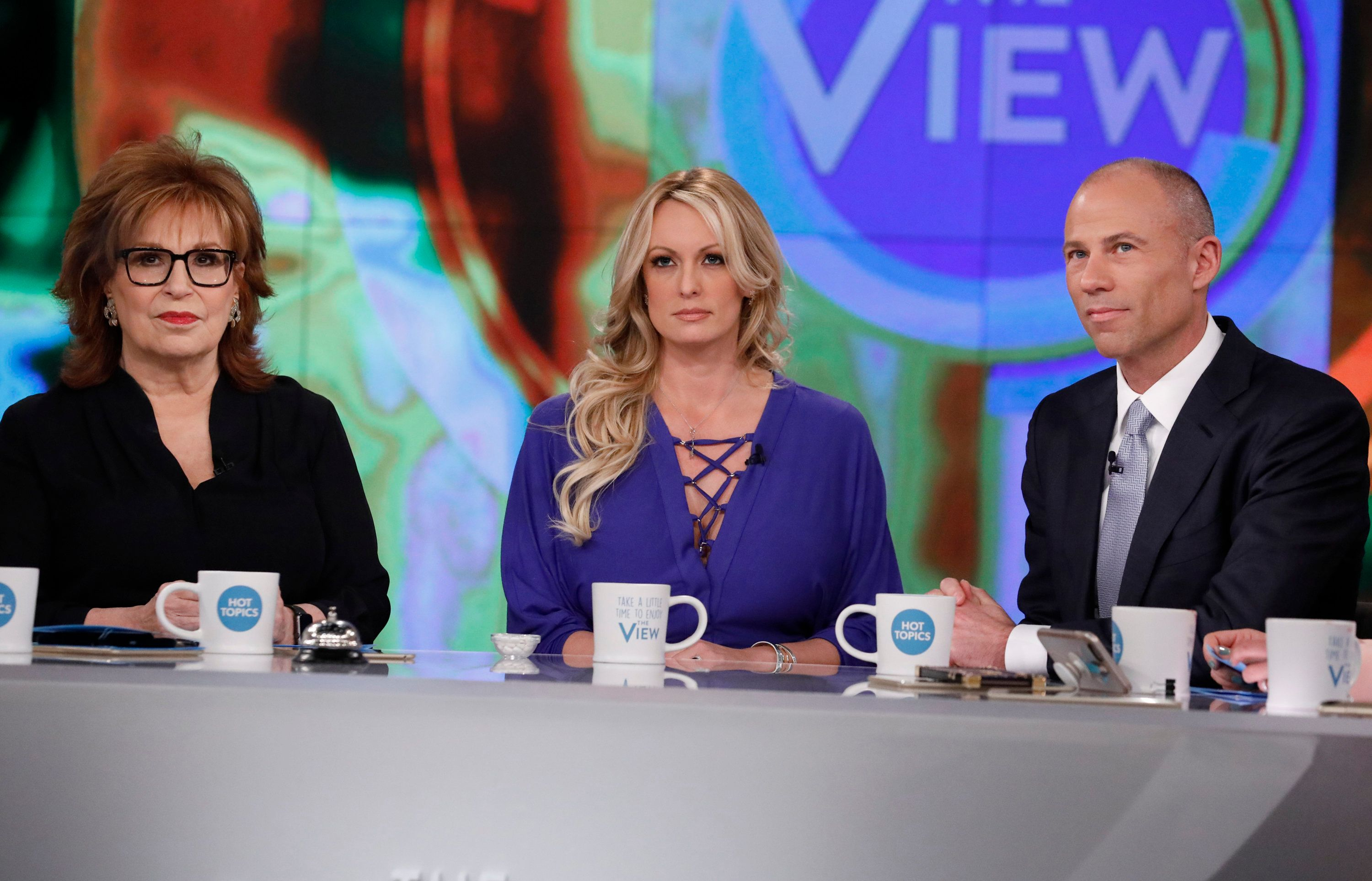 "Daniels appears on ""The View"" on Tuesday, April 17."