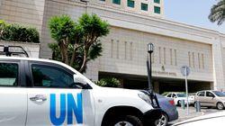 Ομάδα ασφαλείας του ΟΗΕ δέχθηκε πυρά στην Ντούμα. Αναβολή της
