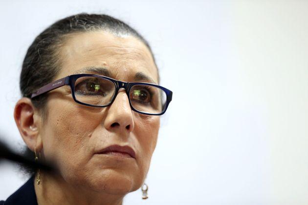 La secrétaire générale du Parti des Travailleurs, Louisa Hanoune - Photo