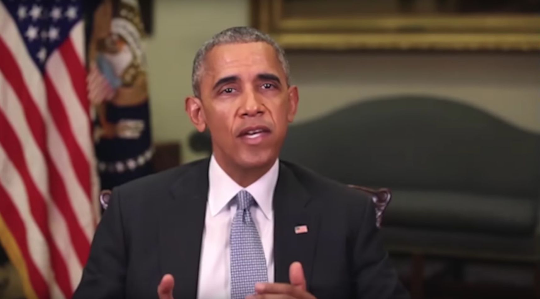 Despite Appearances, This Video Of Barack Obama Is Completely