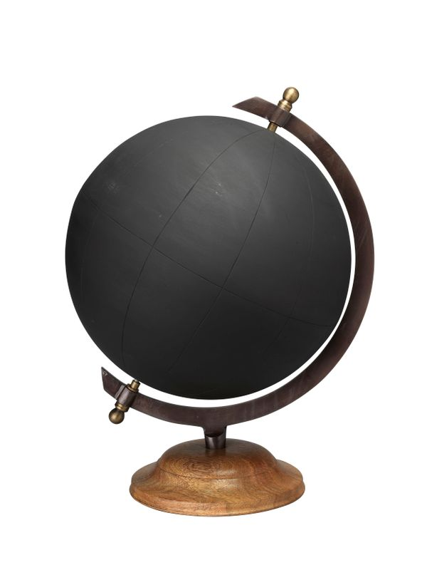 "The world is changing, and so are globes. This <a href=""http://www.bellacor.com/productdetail/jamie-young-company-7glob-lgbk-"